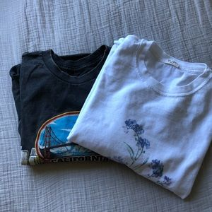 Brandy melville graphic tees